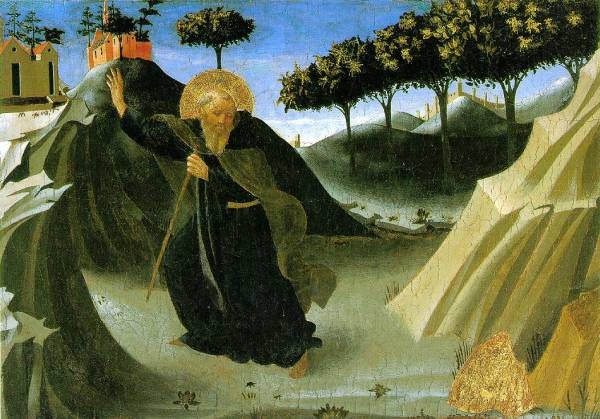 Saint Anthony The Abbot Tempted By A Lump Of Gold